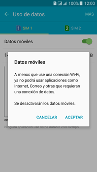 Desactiva tu conexión de datos - Samsung Galaxy J7 - J700 - Passo 5