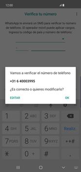 Configuración de Whatsapp - Samsung S10+ - Passo 6