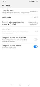 Comparte la conexión de datos con una PC - Huawei P30 - Passo 9