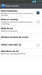 Desactiva tu conexión de datos - LG Optimus G Pro Lite - Passo 5