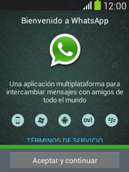 Configuración de Whatsapp - Samsung Galaxy Pocket Neo - S5310L - Passo 4