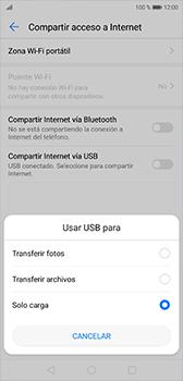 Comparte la conexión de datos con una PC - Huawei P20 - Passo 6