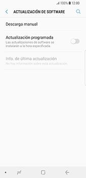 Actualiza el software del equipo - Samsung Galaxy S9 - Passo 6