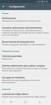 Cambiar configuración de actualizaciones de aplicaciones - Samsung Galaxy S9 Plus - Passo 5