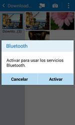 Transferir fotos vía Bluetooth - Samsung Galaxy Core Prime - G360 - Passo 10