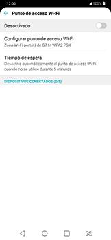 Configura el hotspot móvil - LG G7 Fit - Passo 5