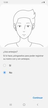 Cómo configurar el Face ID - Samsung Galaxy S20 - Passo 12