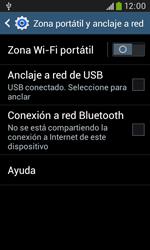 Comparte la conexión de datos con una PC - Samsung Galaxy Trend Plus S7580 - Passo 7