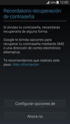 Crea una cuenta - Samsung Galaxy A3 - A300M - Passo 11