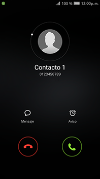 Contesta, rechaza o silencia una llamada - Huawei Mate 8 - Passo 3