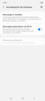 Actualiza el software del equipo - Samsung Galaxy A51 - Passo 6