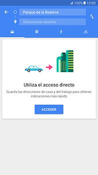 Uso de la navegación GPS - Samsung Galaxy A7 2017 - A720 - Passo 11