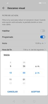 Cómo activar el modo Descanso visual para evitar la fatiga visual - Huawei Nova 5T - Passo 6