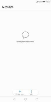 Envía fotos, videos y audio por mensaje de texto - Huawei Y7 (2018) - Passo 2