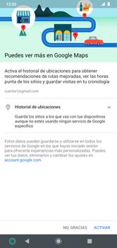 Uso de la navegación GPS - Motorola Moto G8 Plus (Dual SIM) - Passo 4