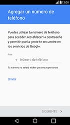 Crea una cuenta - LG G5 - Passo 10