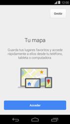 Uso de la navegación GPS - Motorola Moto E (1st Gen) (Kitkat) - Passo 5