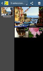 Transferir fotos vía Bluetooth - Samsung Galaxy Trend Plus S7580 - Passo 9