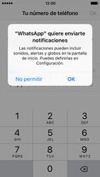 Configuración de Whatsapp - Apple iPhone 5s - Passo 5