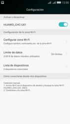 Configura el hotspot móvil - Huawei G Play Mini - Passo 10