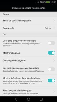 Desbloqueo del equipo por medio del patrón - Huawei Mate S - Passo 14