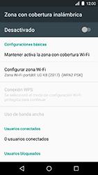 Configura el hotspot móvil - LG K8 (2017) - Passo 7