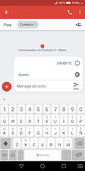 Envía fotos, videos y audio por mensaje de texto - Huawei Y5 2018 - Passo 6