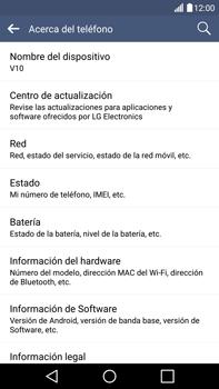 Actualiza el software del equipo - LG V10 - Passo 7