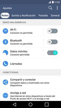 Configura el hotspot móvil - LG V10 - Passo 4