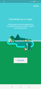Uso de la navegación GPS - Huawei P30 - Passo 4