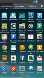 Activa o desactiva el uso del código de seguridad - LG Optimus G Pro Lite - Passo 2