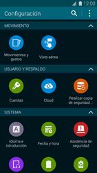 Restaura la configuración de fábrica - Samsung Galaxy S5 - G900F - Passo 4