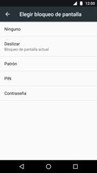 Desbloqueo del equipo por medio del patrón - Motorola Moto G5 - Passo 6