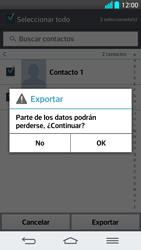 ¿Tu equipo puede copiar contactos a la SIM card? - LG G2 - Passo 9
