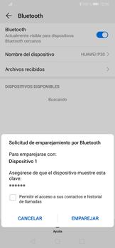 Conecta con otro dispositivo Bluetooth - Huawei P30 - Passo 7