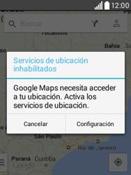Uso de la navegación GPS - LG L20 - Passo 6