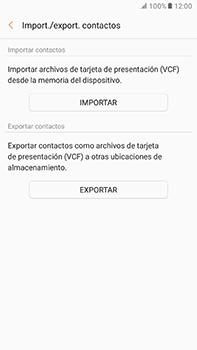 ¿Tu equipo puede copiar contactos a la SIM card? - Samsung Galaxy A7 2017 - A720 - Passo 7