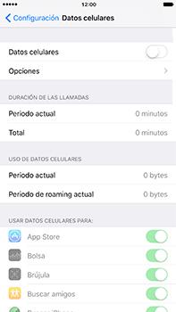 Desactiva tu conexión de datos - Apple iPhone 7 Plus - Passo 4