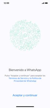 Configuración de Whatsapp - Apple iPhone X - Passo 6