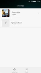 Transferir fotos vía Bluetooth - Huawei G Play Mini - Passo 5