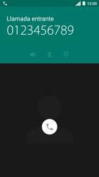 Contesta, rechaza o silencia una llamada - Motorola Moto C - Passo 3