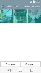 Transferir fotos vía Bluetooth - LG C50 - Passo 7