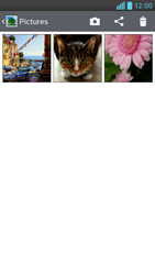 Transferir fotos vía Bluetooth - LG Optimus G Pro Lite - Passo 5