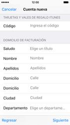Crea una cuenta - Apple iPhone SE - Passo 18