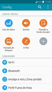 Configura el WiFi - Samsung Galaxy Note IV - N910C - Passo 4