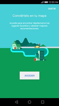 Uso de la navegación GPS - Huawei G8 Rio - Passo 5