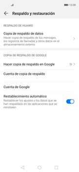 Realiza una copia de seguridad con tu cuenta - Huawei Nova 5T - Passo 8
