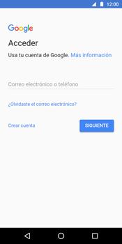 Crea una cuenta - Motorola Moto G6 Plus - Passo 3