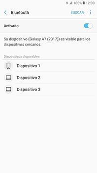 Conecta con otro dispositivo Bluetooth - Samsung Galaxy A7 2017 - A720 - Passo 7