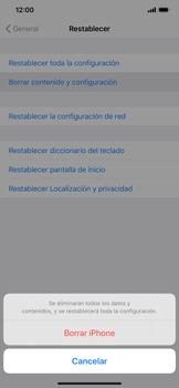 Restaura la configuración de fábrica - Apple iPhone 11 - Passo 6